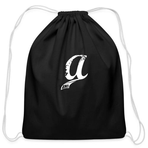Already Logo White - Cotton Drawstring Bag