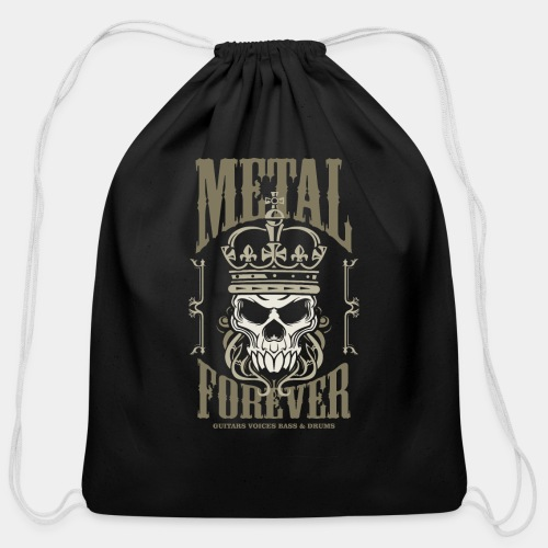 Metal Forever - Cotton Drawstring Bag