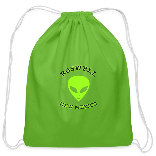 Roswell New Mexico - Cotton Drawstring Bag