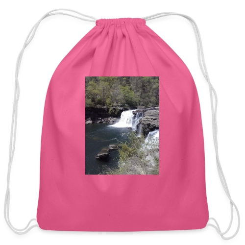 LRC waterfall - Cotton Drawstring Bag