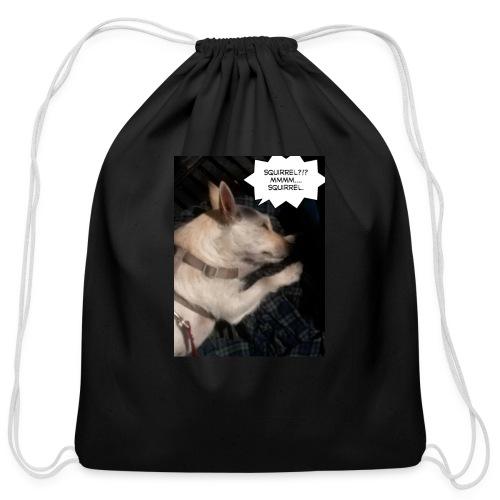 Dreaming of squirrel - Cotton Drawstring Bag