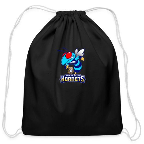 Hornets FINAL - Cotton Drawstring Bag