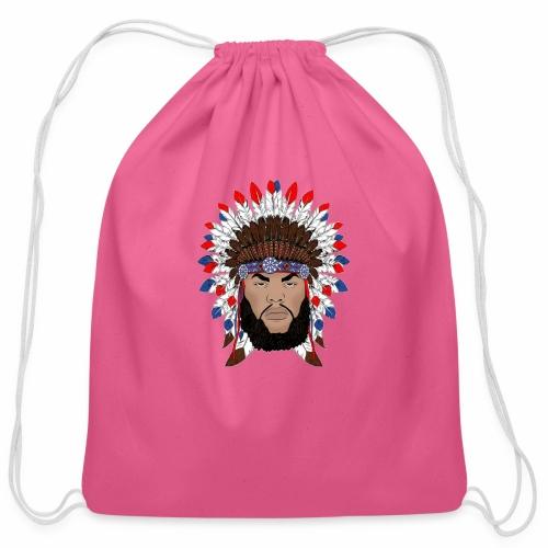 Dane Calloway American Indian Logo - Cotton Drawstring Bag