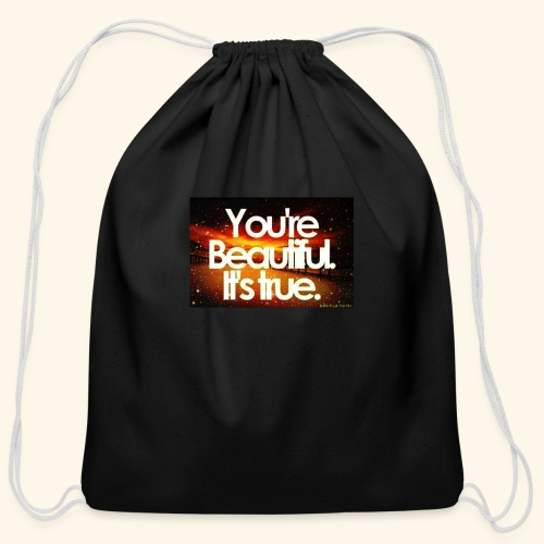 I see the beauty in you. - Cotton Drawstring Bag