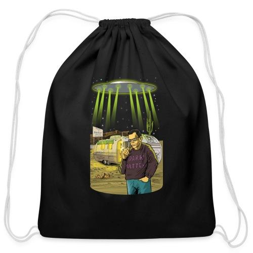 Art Bell Coast to Coast UFO Sighting - Cotton Drawstring Bag