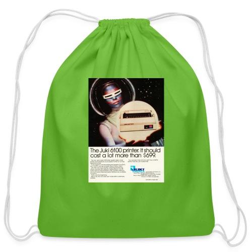 tr computer early80s juki - Cotton Drawstring Bag