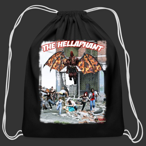 The Hellaphant Alternate Concept: Re-Issue - Cotton Drawstring Bag