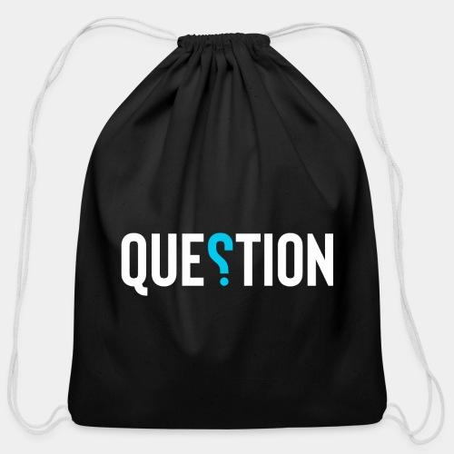 question answer - Cotton Drawstring Bag