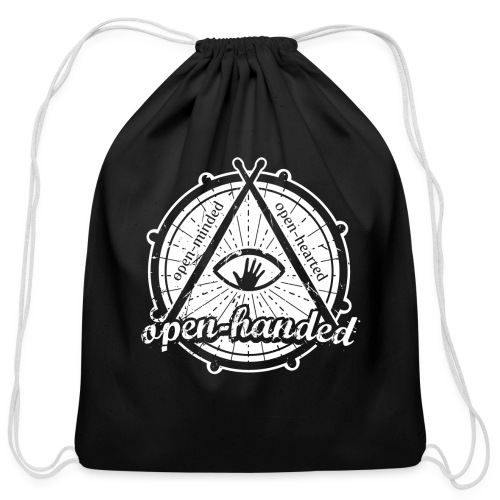 Open-Handed - Cotton Drawstring Bag