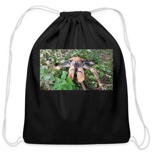 Robber Crab - Cotton Drawstring Bag