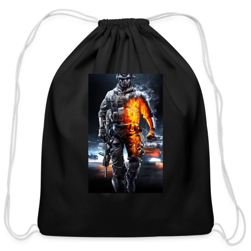 Cod fan - Cotton Drawstring Bag