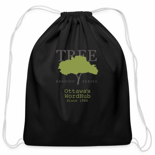 Tree Reading Swag - Cotton Drawstring Bag