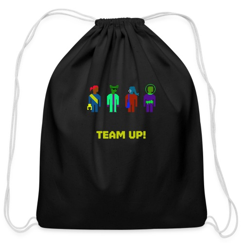 Spaceteam Team Up! - Cotton Drawstring Bag