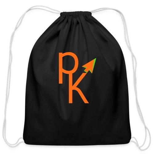 Plusklix Logo - Cotton Drawstring Bag