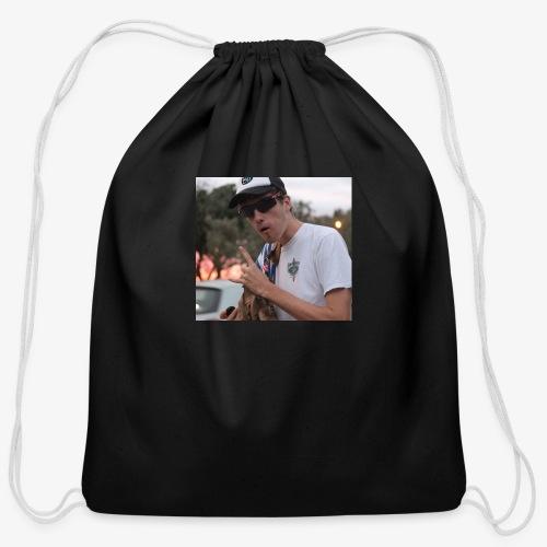 big man - Cotton Drawstring Bag