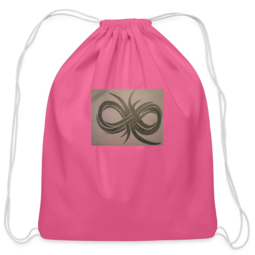 Infinity - Cotton Drawstring Bag
