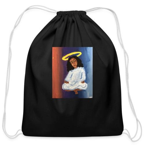 Angel - Cotton Drawstring Bag
