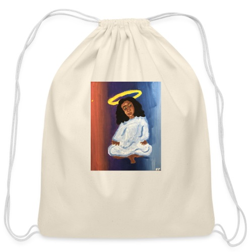 Angel - Cotton Drawstring Bag
