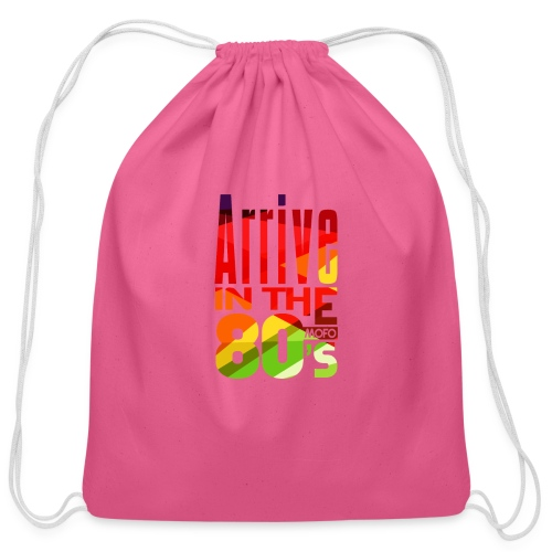 Funk Nation Arrive in the 80s - Cotton Drawstring Bag