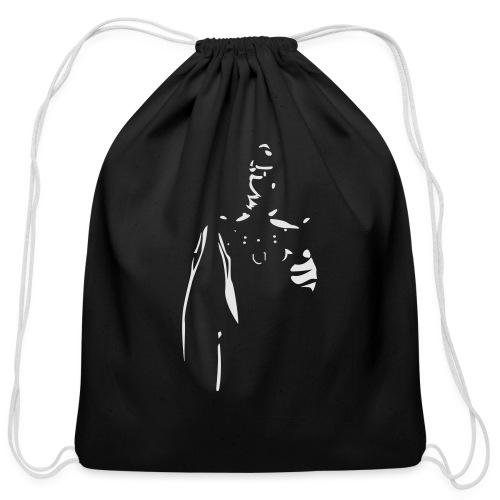 Rubber Man Wants You! - Cotton Drawstring Bag