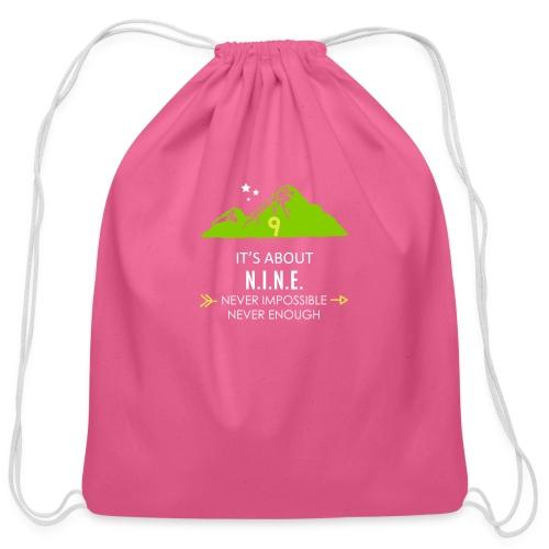 Design Mountain NEW - Cotton Drawstring Bag