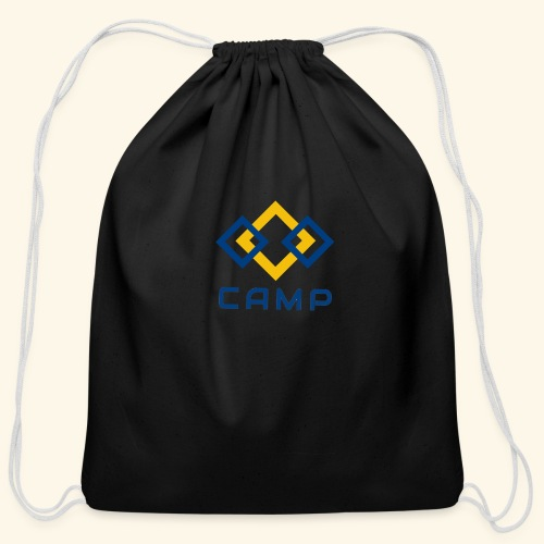 CAMP LOGO and products - Cotton Drawstring Bag