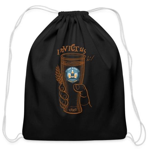 Une bière avec Dan - Invictus - Cotton Drawstring Bag