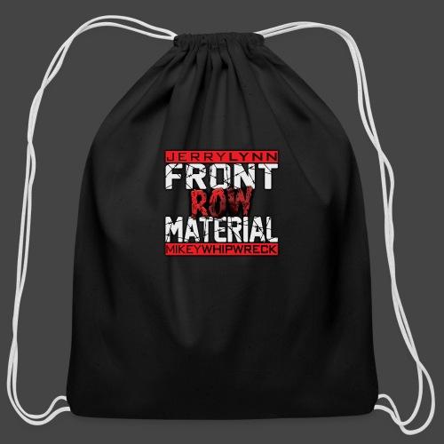 Front Row Material Logo - Cotton Drawstring Bag
