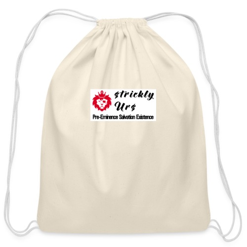 E Strictly Urs - Cotton Drawstring Bag