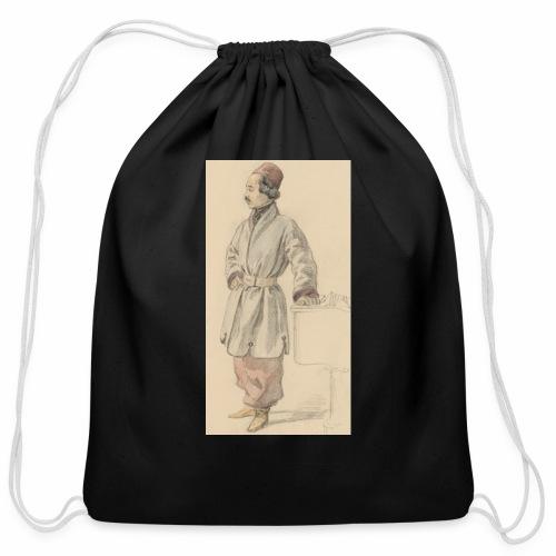 rs portrait sp 01 - Cotton Drawstring Bag