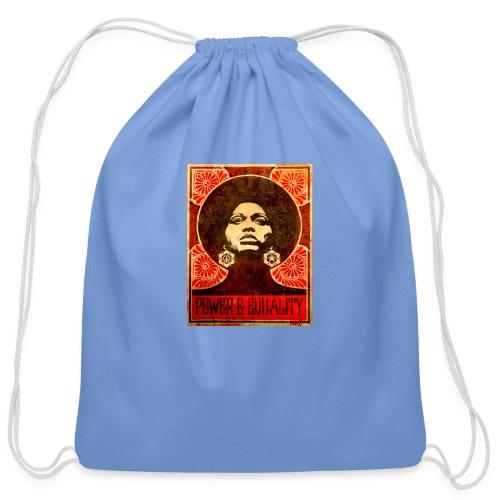 Angela Davis proPoster - Cotton Drawstring Bag