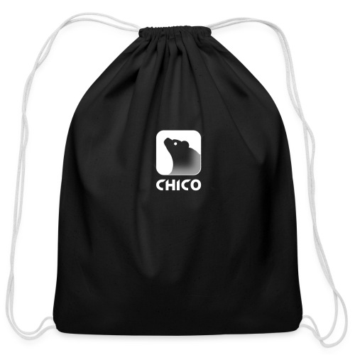 Chico's Logo with Name - Cotton Drawstring Bag
