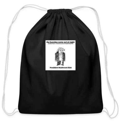 tbcoan Mushroom Dick - Cotton Drawstring Bag