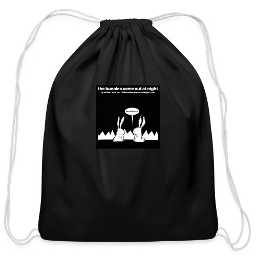 tbcoan Where the bitches at? - Cotton Drawstring Bag