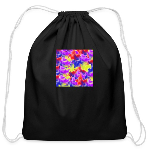 A Splash of Colour - Cotton Drawstring Bag