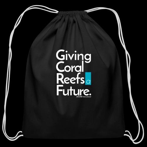 Giving Coral Reefs a Future - Cotton Drawstring Bag