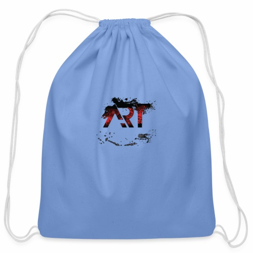 ART - Cotton Drawstring Bag