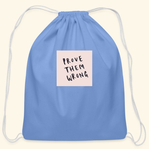 show em what you about - Cotton Drawstring Bag