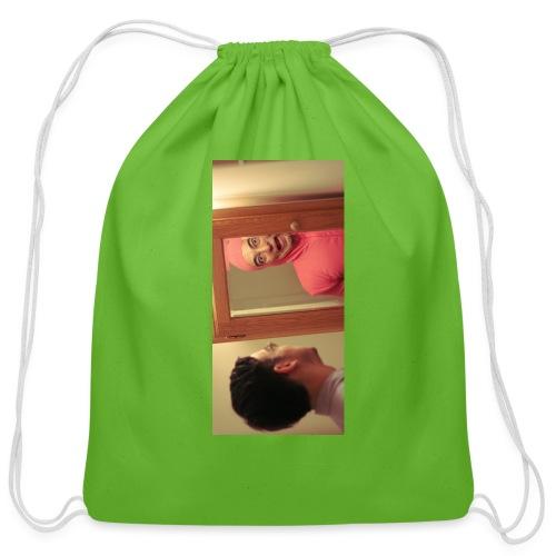 pinkiphone5 - Cotton Drawstring Bag