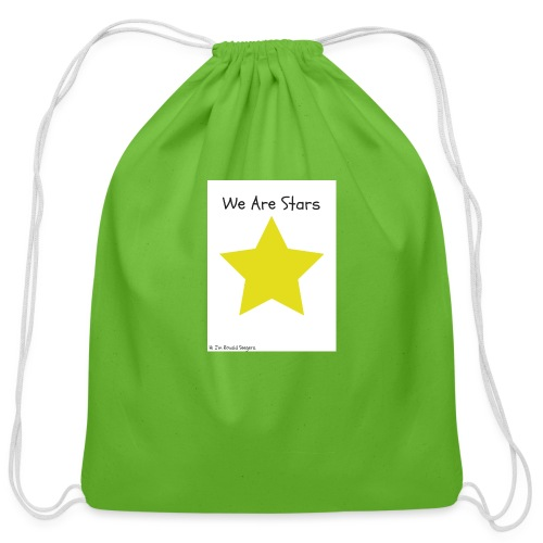 Hi I'm Ronald Seegers Collection-We Are Stars - Cotton Drawstring Bag