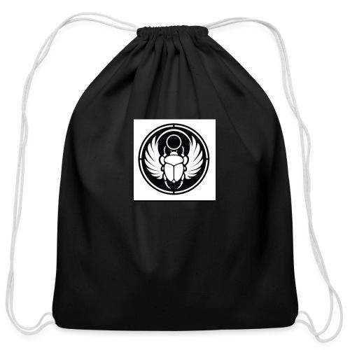 Scarab - Cotton Drawstring Bag