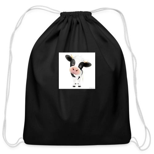 cows - Cotton Drawstring Bag