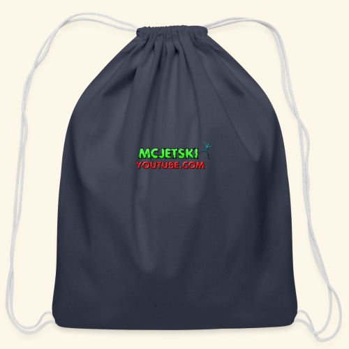 channel - Cotton Drawstring Bag
