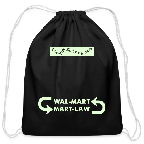 MART-LAW-TTS - Cotton Drawstring Bag