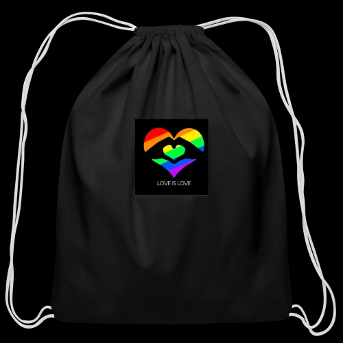 subhan squad love is love logo bag - Cotton Drawstring Bag