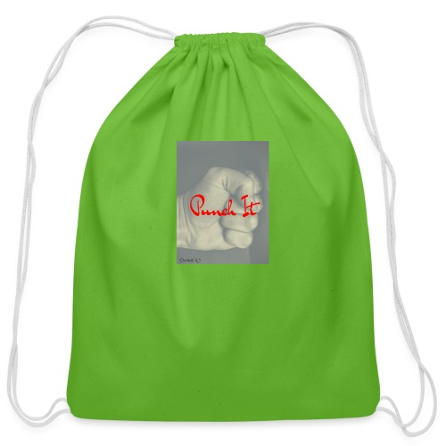 Punch it by Duchess W - Cotton Drawstring Bag
