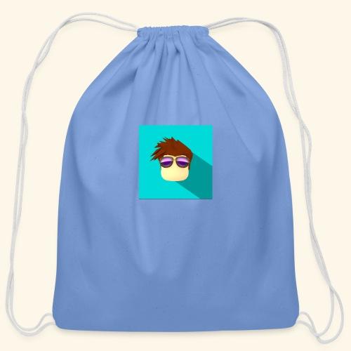 NixVidz Youtube logo - Cotton Drawstring Bag