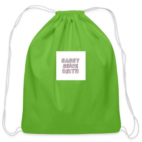 Sassy - Cotton Drawstring Bag