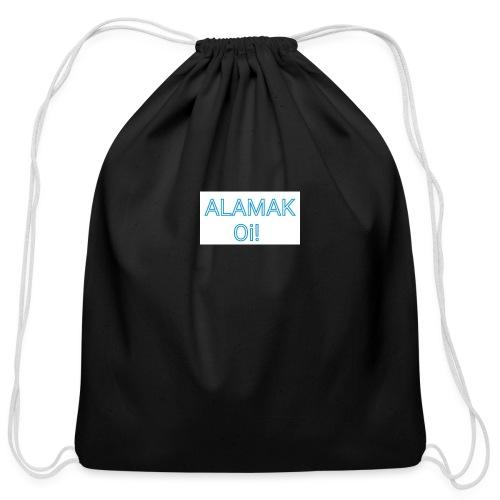 ALAMAK Oi! - Cotton Drawstring Bag