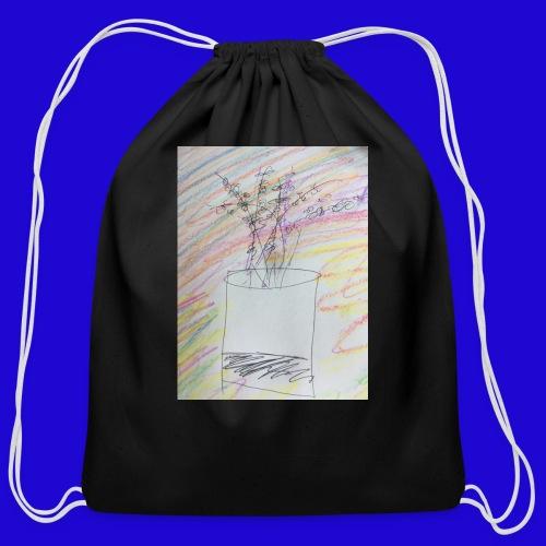 Lazy Artwork - Cotton Drawstring Bag